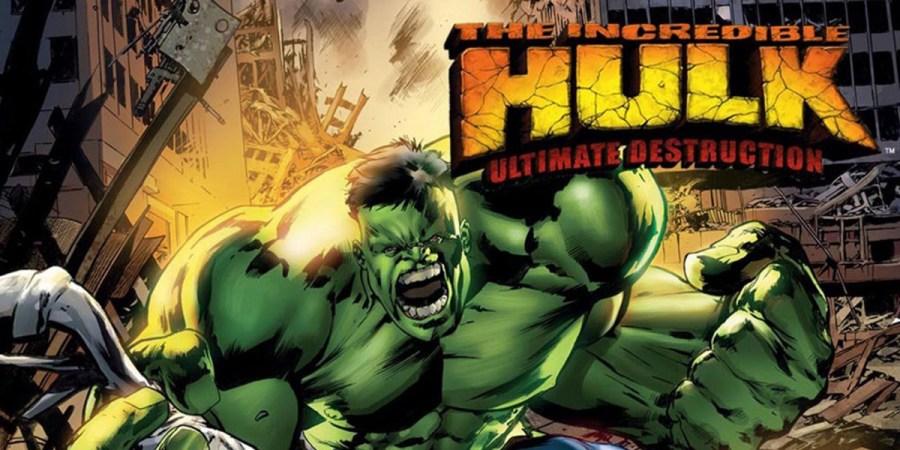 Game Superhero The Incredible Hulk: Ultimate Destruction