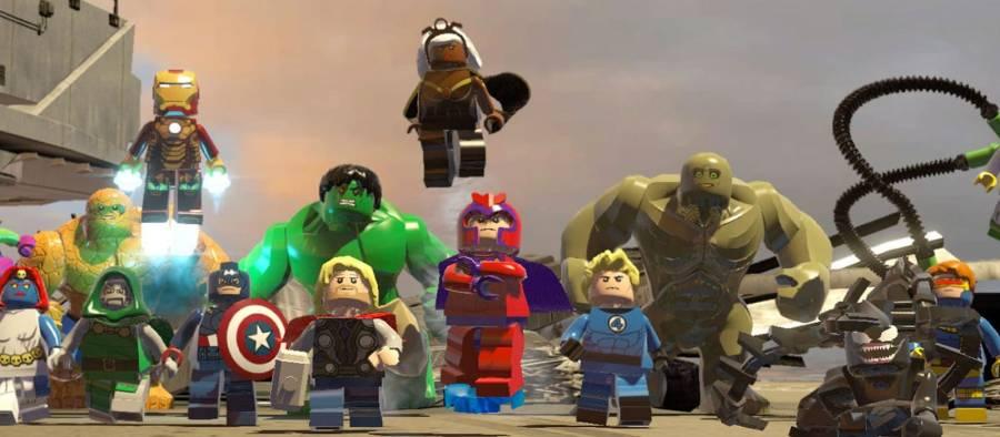 Game Superhero Lego Marvel Super Heroes