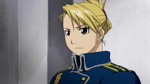 Karakter Anime Perempuan Riza Hawkeye: Brotherhood Alchemist Fullmetal