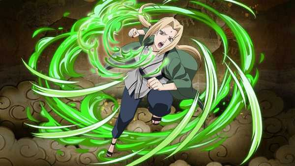 Karakter Anime Perempuan Tsunade Senju: Naruto