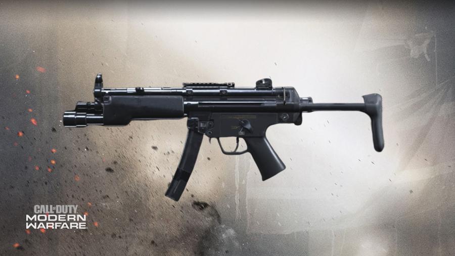 senjata terbaik warzone MP5