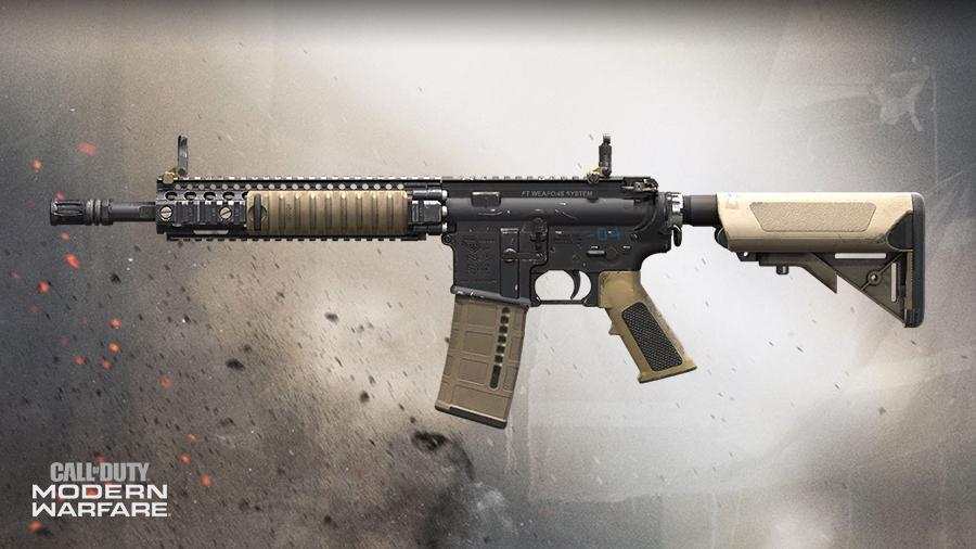 senjata terbaik warzone M4A1