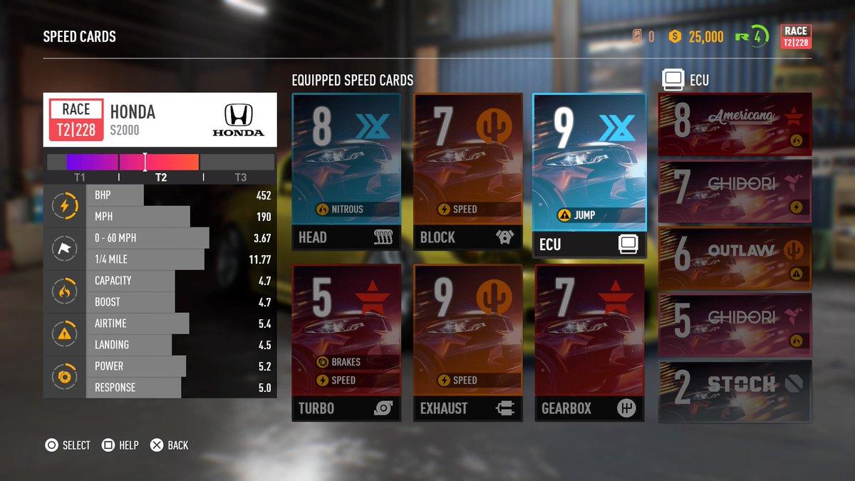 Ubah Speed Cards
