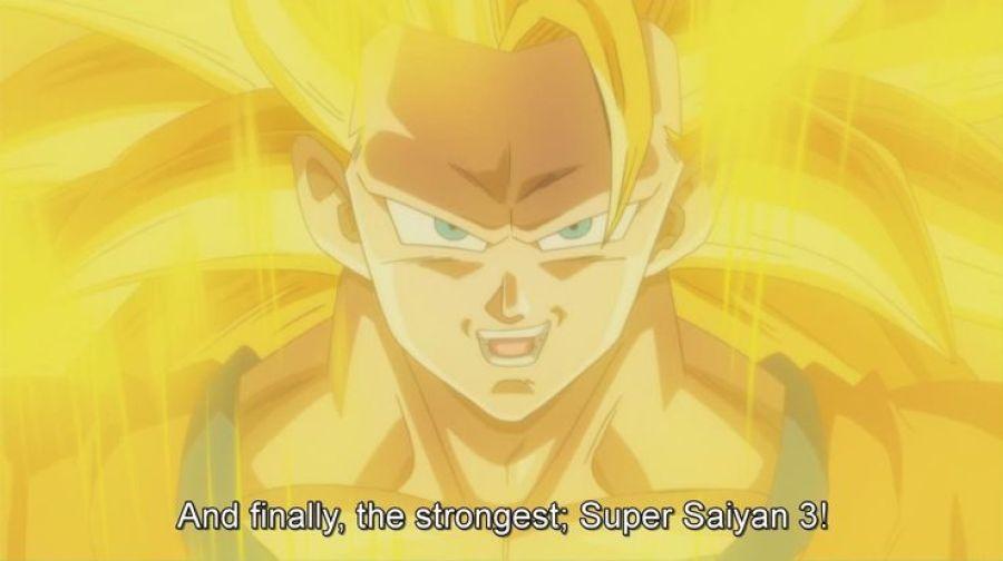 Super Saiyan 3, Goku Tetap Memiliki Pupil