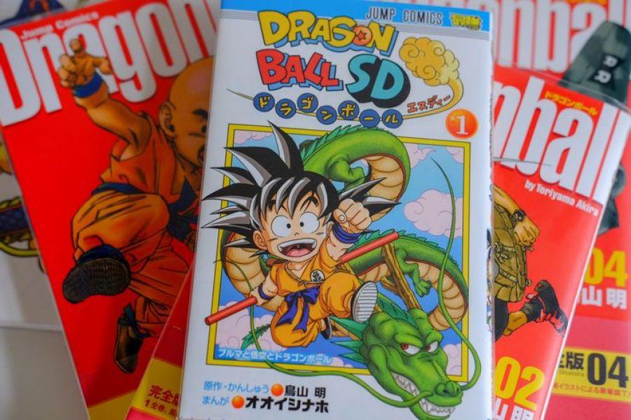 Kemunculan Dragon Ball SD
