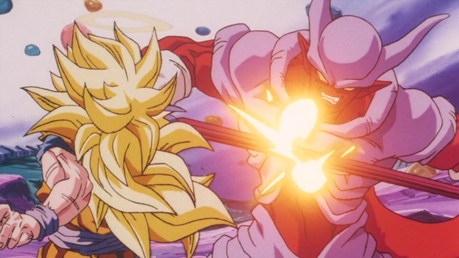 Goku Gunakan Super Saiyan 3 Saat Melawan Janemba